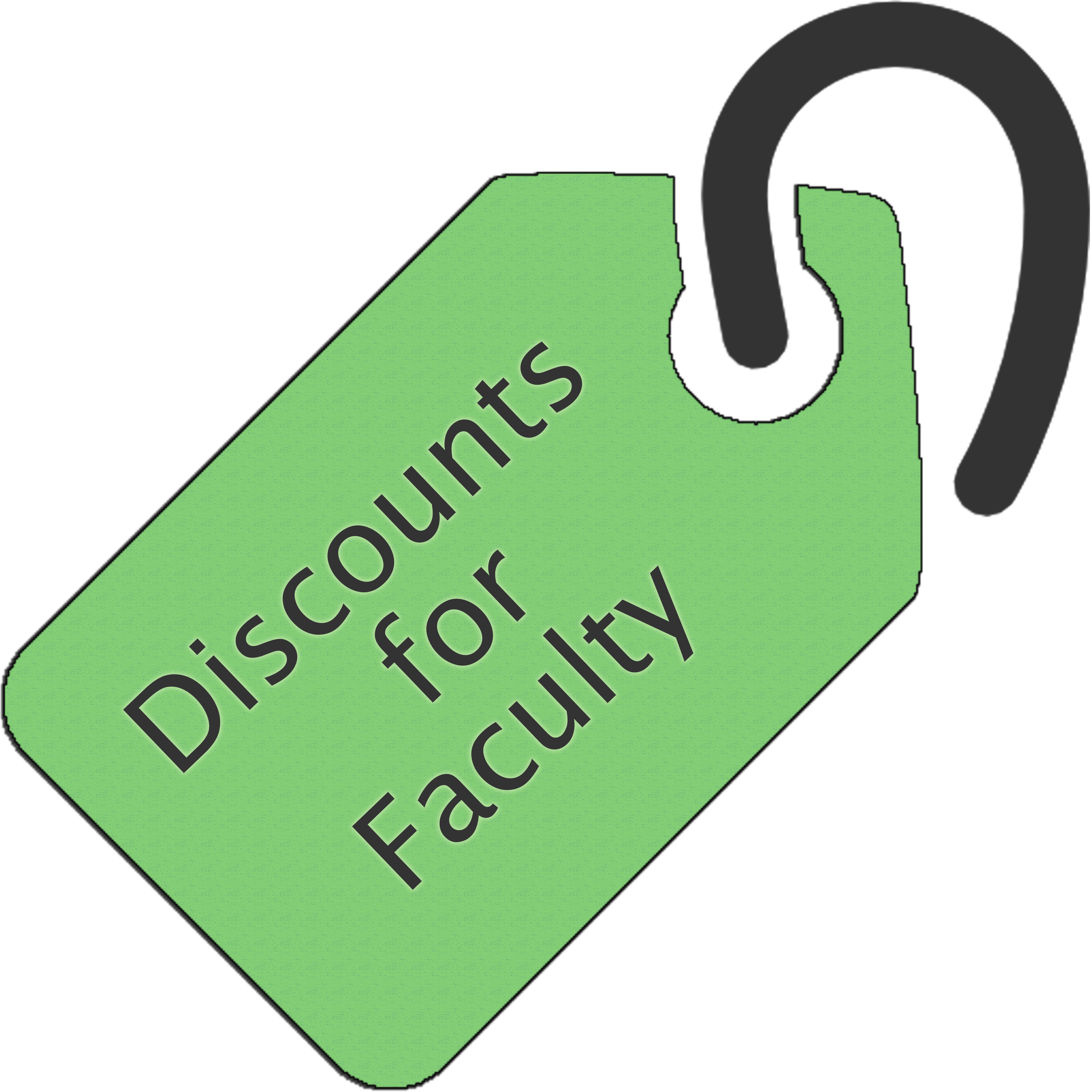 Link to Faculty Discounts page