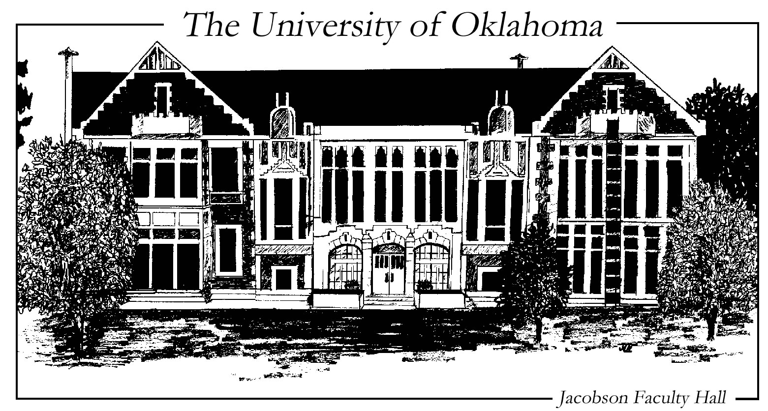 Sketch of Jacobson Hall
